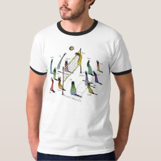 Phurfoo Volleyball - with Names T-Shirt