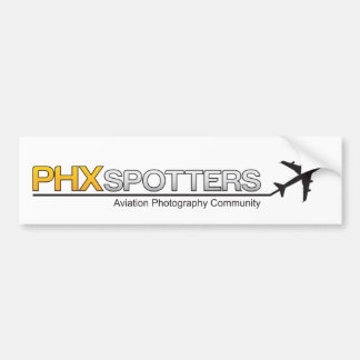 PHXSpotters Bumber Sticker
