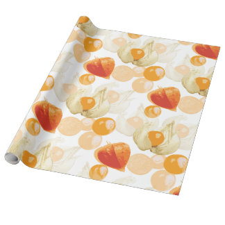 Physalis | Winter Cherries Wrapping Paper