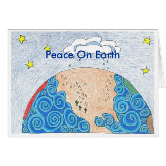 physical geography, Peace On Earth Card