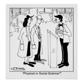 Physical or Social Science? Poster