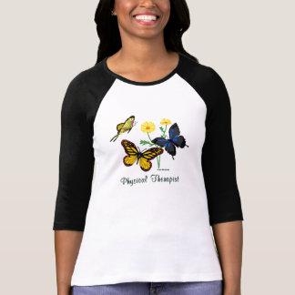 Physical Therapist Butterflies T-Shirt