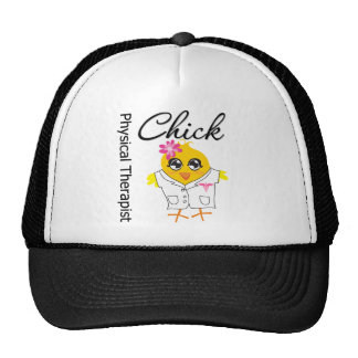Physical Therapist Chick Trucker Hats