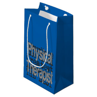 Physical Therapist Extraordinaire Small Gift Bag