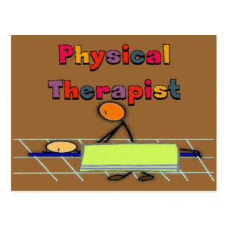 Physical Therapist Gifts Postcard