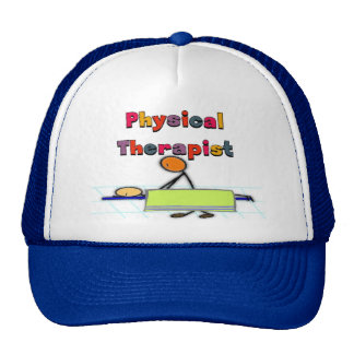 Physical Therapist Gifts Trucker Hats