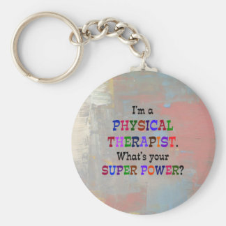 Physical Therapist Keychain