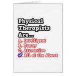 Physical Therapist Quiz...Joke Cards