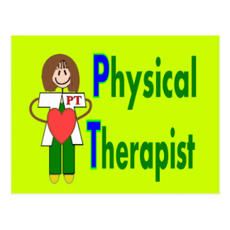 Physical Therapist T-shirts and Gifts Postcard
