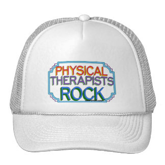 Physical Therapists Rock Trucker Hat