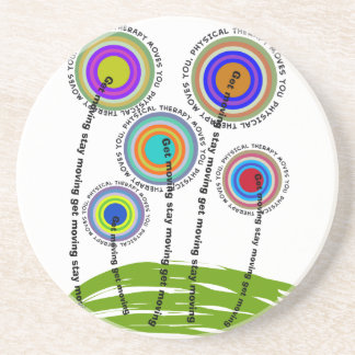 Physical Therapy Artsy Gifts Coaster