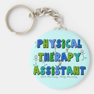Physical Therapy Assistant Gifts Basic Round Button Keychain