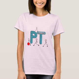 Physical Therapy Assistant Gifts Unique Graphics T-Shirt