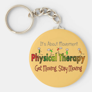 Physical Therapy Products and Gifts Keychain