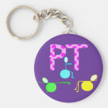 Physical Therpist Gifts With Unique Graphics Key Chain