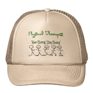 physicall Therapist Stick People Mesh Hats