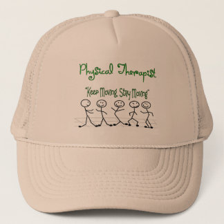 physicall Therapist Stick People Trucker Hat