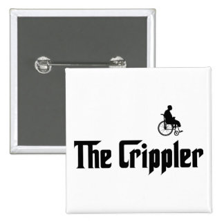 Physically Challenged Pinback Buttons