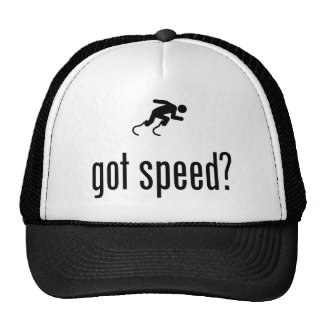 Physically Challenged Runner Trucker Hats