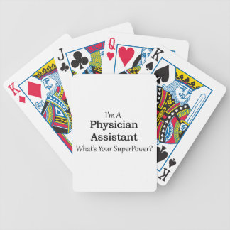 Physician Assistant Bicycle Playing Cards