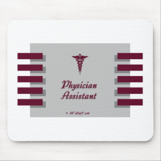 Physician Assistant Gray Mouse Pad