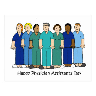 Physician Assistants Day Postcard