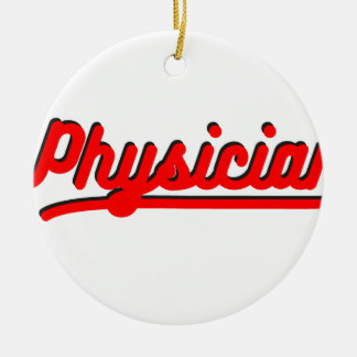 Physician Ceramic Ornament