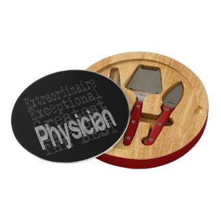 Physician Extraordinaire Rectangular Cheeseboard