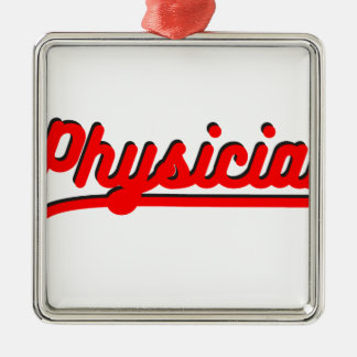 Physician Metal Ornament
