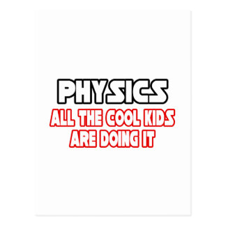 Physics Cool Kids Post Cards
