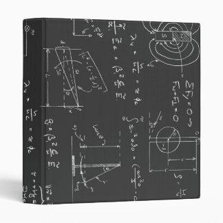 Physics diagrams and formulas binder