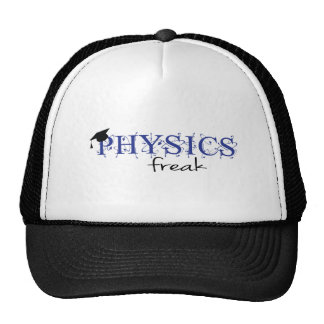 Physics freak mesh hats
