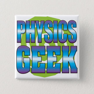 Physics Geek v3 2 Inch Square Button