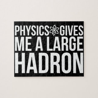 Physics Gives Me A Large Hadron Jigsaw Puzzle