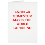 PHYSICS GREETING CARDS