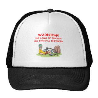 physics trucker hat