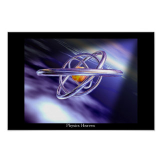 Physics Heaven Poster