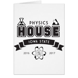 Physics House Card