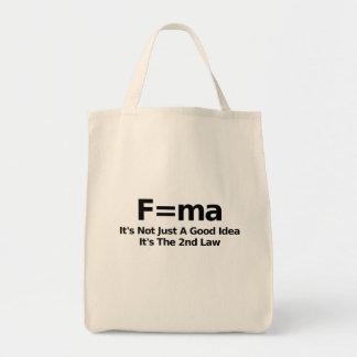 Physics Humor Tote Bag