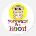 Physics is a Hoot Sticker