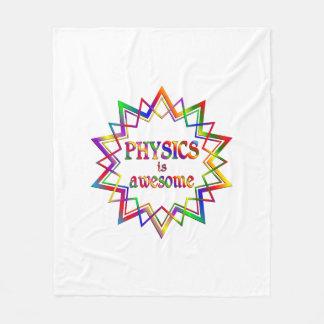 Physics is Awesome Fleece Blanket