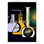 Physics is Cool Stationery Note Card