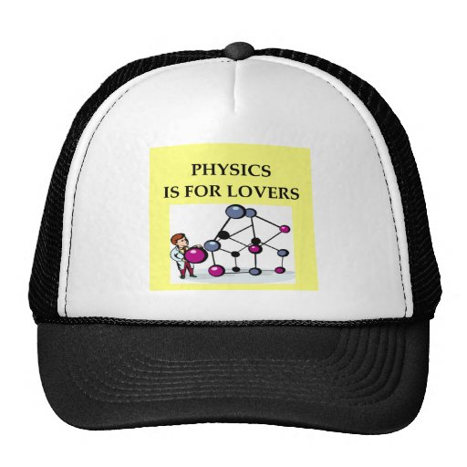 PHYSICS is for lovers Mesh Hat