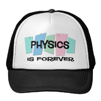 Physics Is Forever Mesh Hats