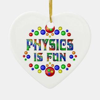 Physics is Fun Ceramic Ornament
