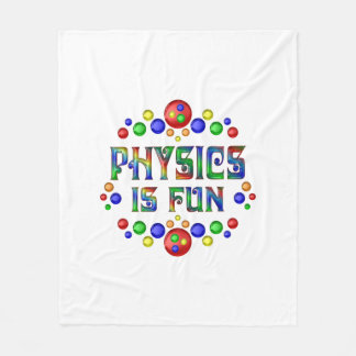 Physics is Fun Fleece Blanket