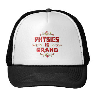Physics is Grand Hats