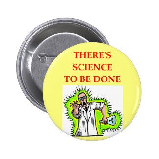 physics joke 2 inch round button