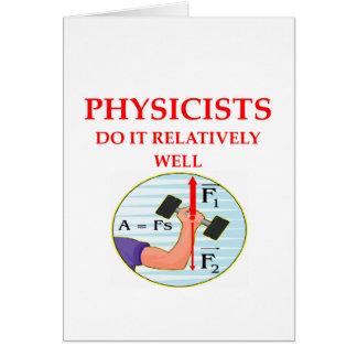 physics question card
