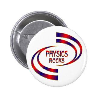 Physics Rocks 2 Inch Round Button